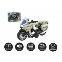 Motorka policejní, české zvuky a světlo