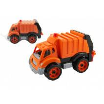 Auto popeláři oranžové, 33x20cm