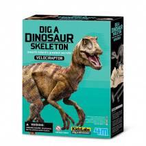4M Vykopávka kostry dinosaura Velociraptor