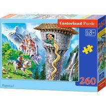 Puzzle 260 dílků - Locika ve věži 27453