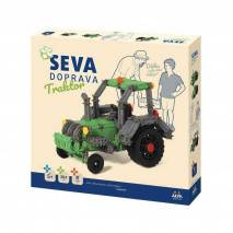 SEVA Doprava Traktor - polytechnická stavebnice