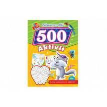 Pracovní sešit 500 zábavných aktivit - Kočička