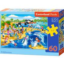 Puzzle 60 dílků - Delfinárium 66148