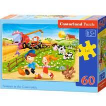 Puzzle 60 dílků - Léto na venkově 6878