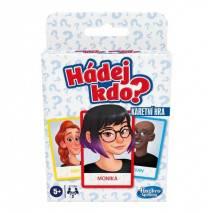 Hasbro Hádej kdo - karetní hra
