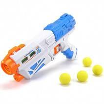 Pistole na vodu a pěnové míčky MagicGun 2v1