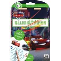 Pracovní sešit - Bludišťárna s tužkou Auta/Cars