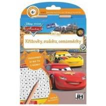 Pracovní sešit - Křížovky, sudoku, osmisměrky s tužkou Auta/Cars