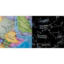 [Poškozený obal] 2v1 Globus a hvězdná obloha
