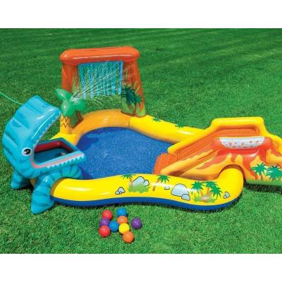 INTEX Bazén Dinosaur play center 249x191x109cm 57444