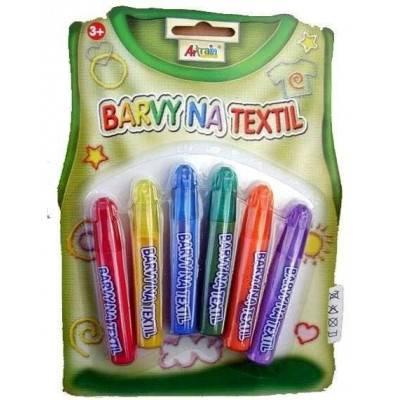Barvy na textil - Základní