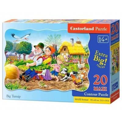 Puzzle maxi 20 dílků - O veliké řepě 2283