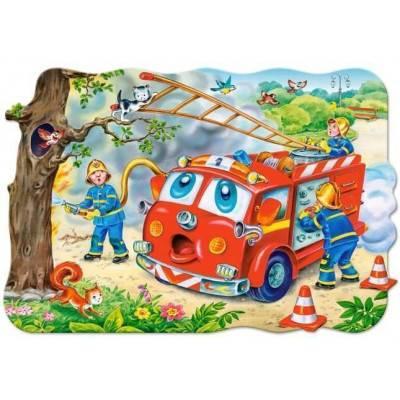 Puzzle maxi 20 dílků - hasiči 2146