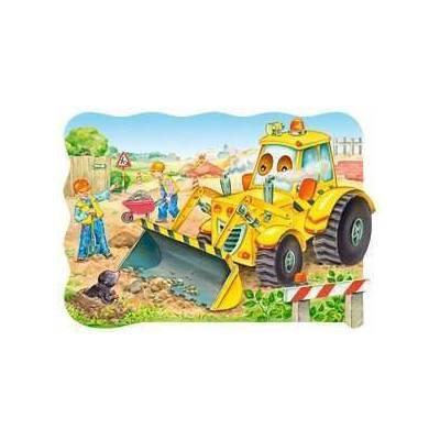Puzzle maxi 20 dílků - Bagr 2139