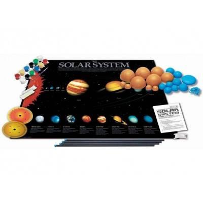 3D model sluneční soustavy na zavěšení - svítí ve tmě