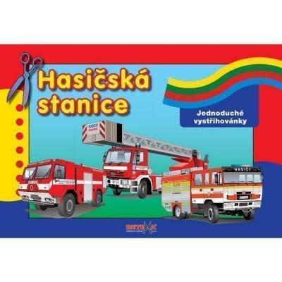 Vystřihovánka - Hasičská stanice