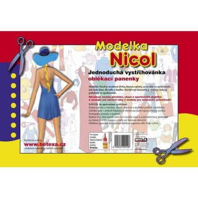 Vystřihovánky -  Modelka Nicol