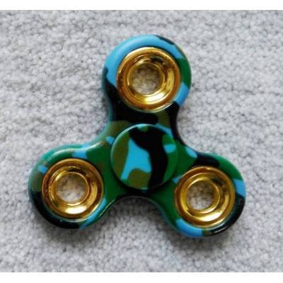 Fidget Spinner 3 ramena MODRÝ MASKÁČ