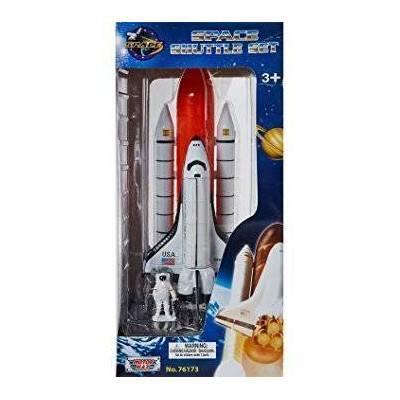 Model raketoplánu Discovery na startovací rampě