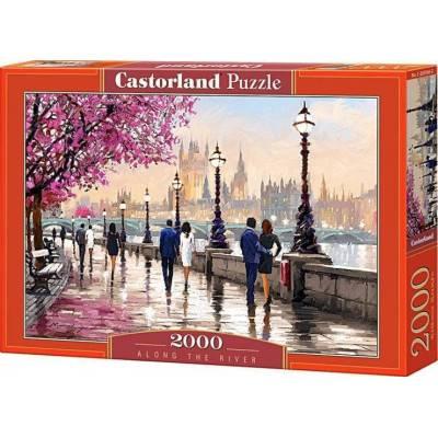 Puzzle 2000 dílků - Podél řeky 200566