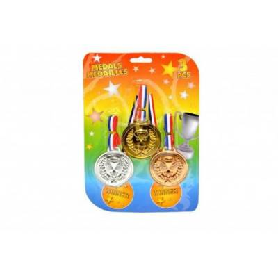 Dětské medaile 6cm 3ks