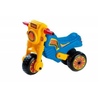 Cross Odrážedlo motorka modro-žlutá