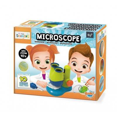 BUKI MiniScience Mikroskop Stereo 10x zoom