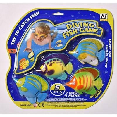 Sada rybiček na potápění