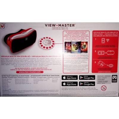 [Použité zboží] Mattel View-Master VR virtuální brýle + 2 zážitkové balíčky