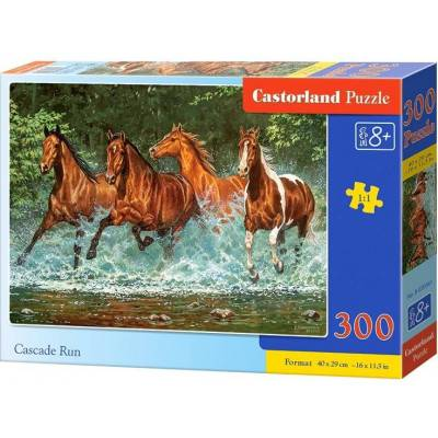 Puzzle 300 dílků - Běžící koně 30361