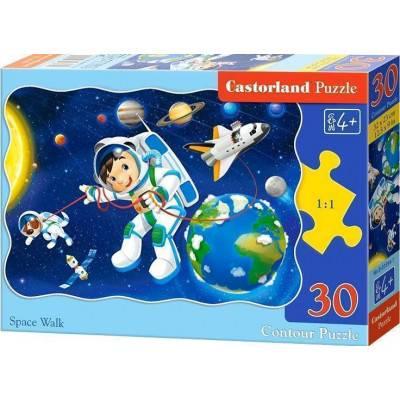 Puzzle 30 dílků - Vesmírná chůze 3594