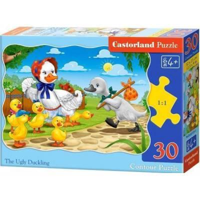 Puzzle 30 dílků - Ošklivé káčátko 3723