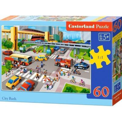 Puzzle 60 dílků - Křižovatka 66131