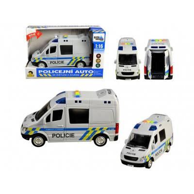 MaDe Auto Policejní dodávka, zvuky a světlo