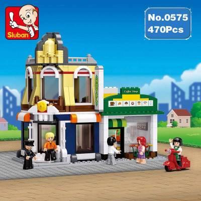 Stavebnice SLUBAN Hotel s kavárnou M38-B0575