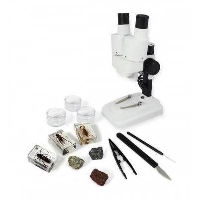 BUKI Mikroskop 3D MR500 se 40ti experimenty