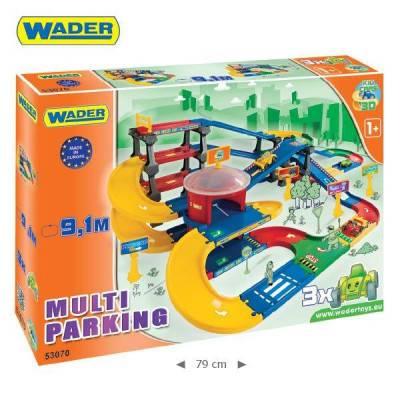 Wader Garáž Kid cars 3D multi parkování 9,1m 53070