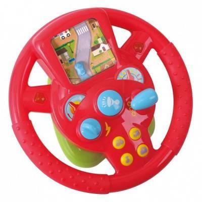 PlayGO Volant se simulací jízdy, zvuky a světlo