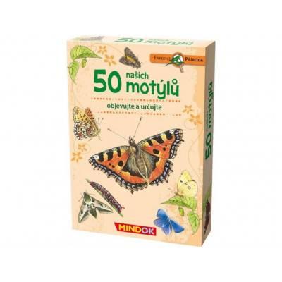 Mindok Expedice příroda: 50 našich motýlů