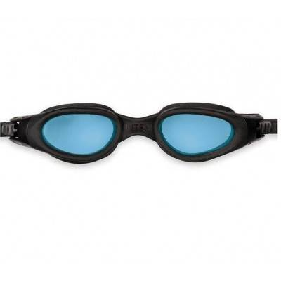INTEX Plavecké brýle Silicone Sport Master 55692 ČERNO-MODRÉ