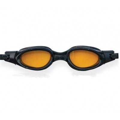 INTEX Plavecké brýle Silicone Sport Master 55692 ČERNO-ŽLUTÉ