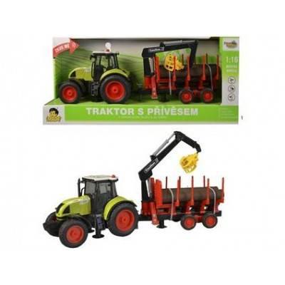 MaDe Traktor s kládami, zvuky a světlo
