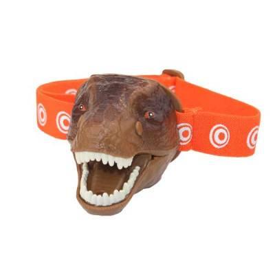Brainstorm Toys - LED svítilna na hlavu TREX se zvukem