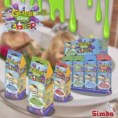 Glibbi Slime Maker - výroba slizu - modrý