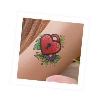 BUKI BeTeens Tetování pro holky - BAREVNÉ