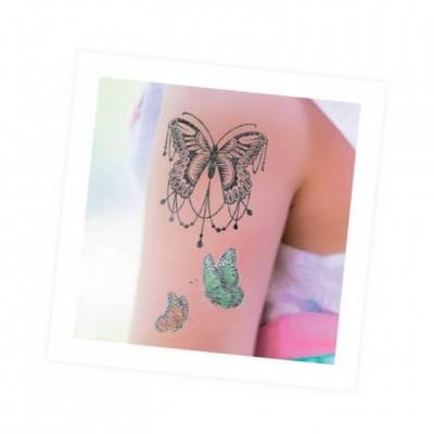 BUKI BeTeens Tetování pro holky - TŘPYTIVÉ