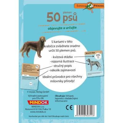 Mindok Expedice příroda: 50 plemen psů