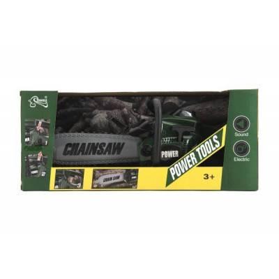 Dětská motorová pila ChainSaw ZELENÁ