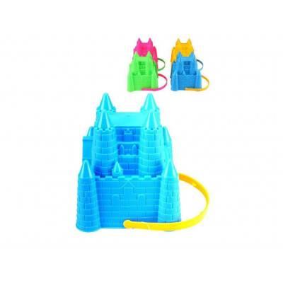 Forma na hrad z písku a kyblík 2v1