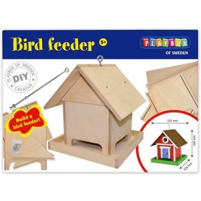 Playbox Ptačí krmítko k sestavení
